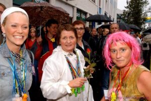 Guðrún á Gay Pride